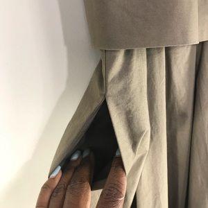 Banana Republic Dresses - Banana Republic Layered Khaki Dress Size 4